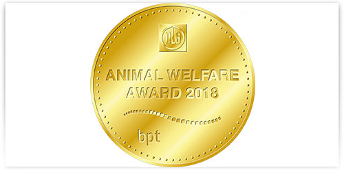 Animal Welfare Award Goldmedaille
